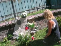 Trauerstelle für Bandi
