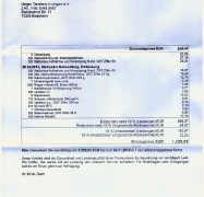 Tierarztrechnung Deutschland