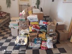 Ein Teil der Spenden für Tatabanya