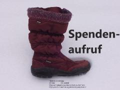 Kurzfristiger Spendenaufruf für Winterbekleidung