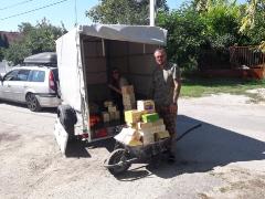 Bilder von Annas Spendenfahrten nach Ungarn im Herbst 2020_8